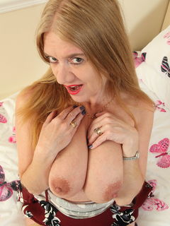 Big titted housewife Lily May playing with herself #10