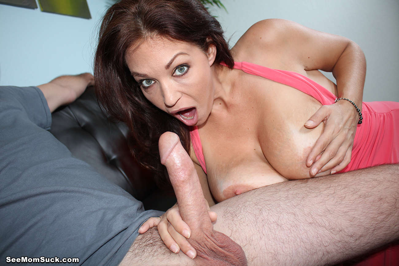 A milf blow up the cat 2