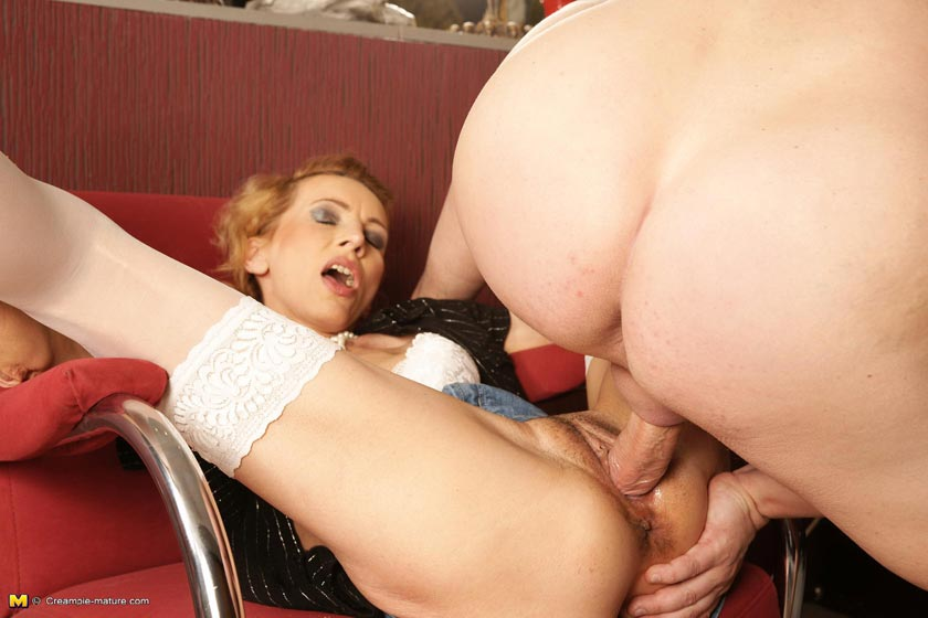 Interesting. Mature anal creampie useful