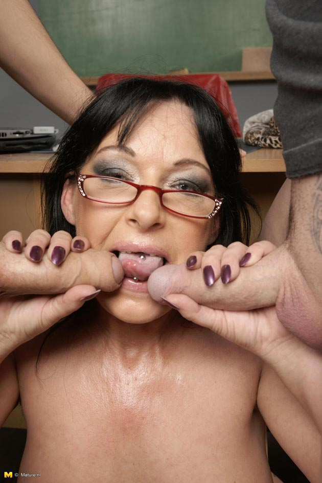 mature lessons fucking tube