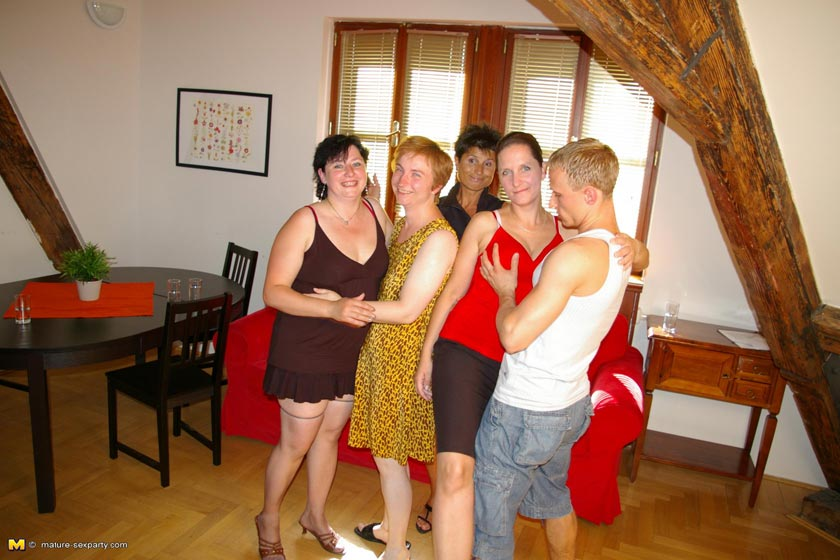 mature porn party