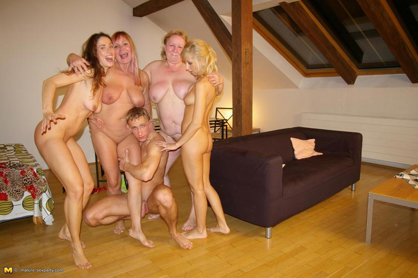 guy Mature sex women one two