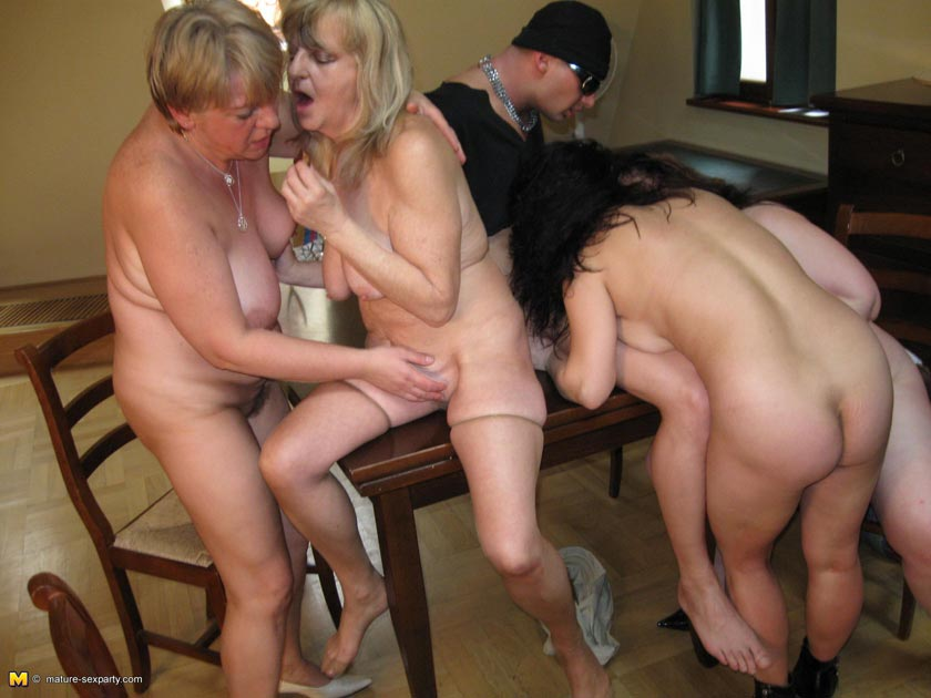 Really. Mom orgy party