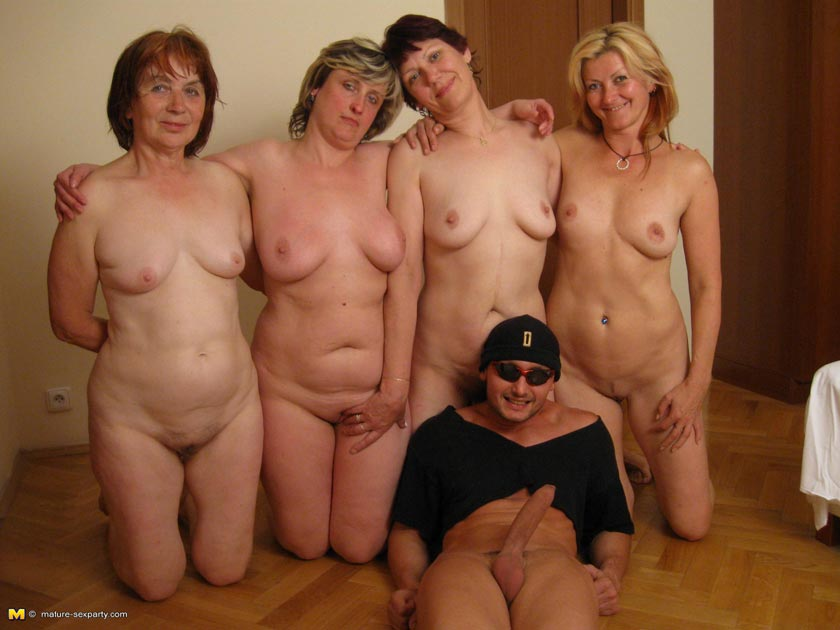 Mature party all women